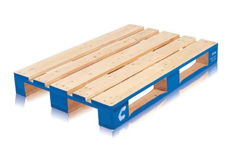 CHEP Euro Pallet wood 1200x800mm
