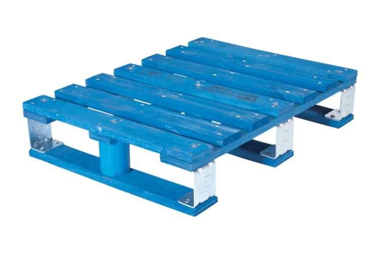 CHEP Half Pallet wood and metal 800x600mm