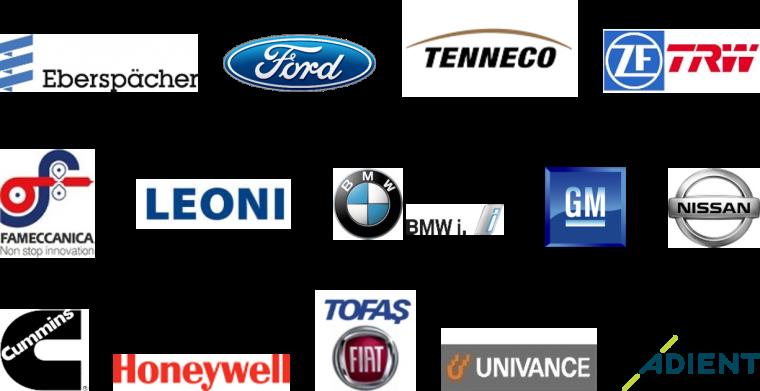 Logos der Kunden