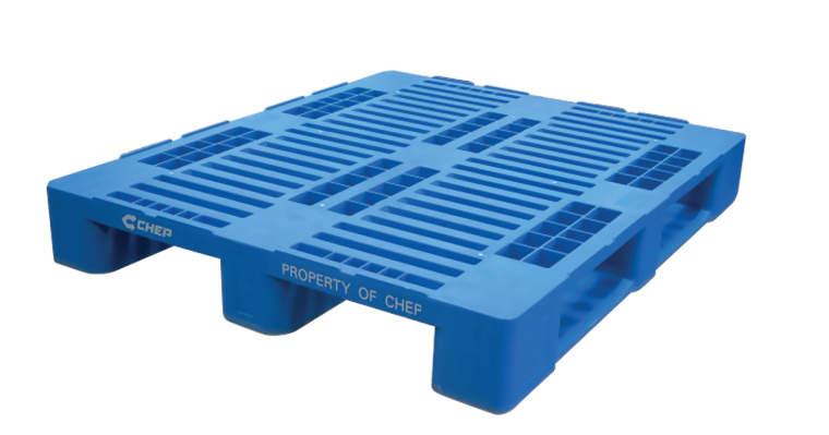 CHEP Kunststoff-Industriepalette 1200 x 1000 mm