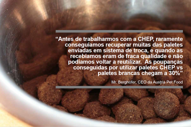 pet food and customer quote