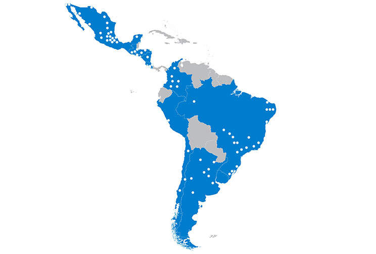 The CHEP Latin America Network