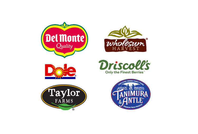 North American Produce Companies (Examples)