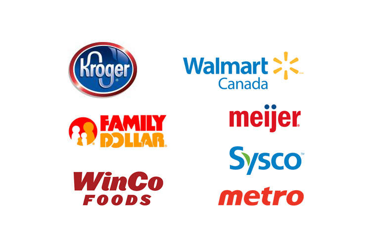 North American Retailers (Examples)