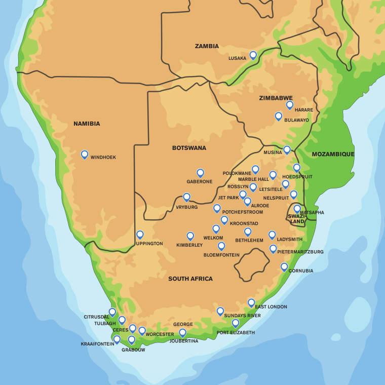 The CHEP Sub-Saharan Africa Network