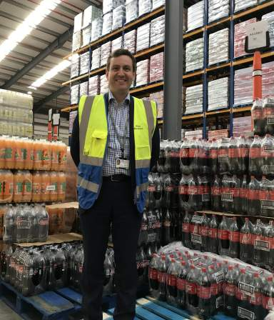 Alan Abraham, Henderson Wholesale Logistics Manager