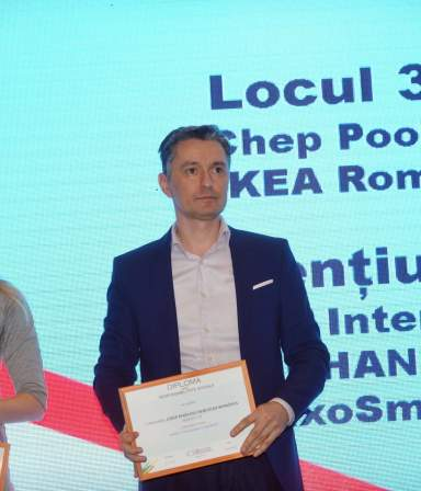 CHEP Romania wins 3rd place at CSR Awards