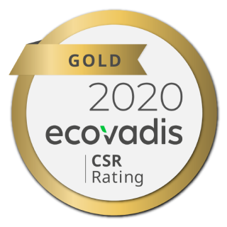 """Gold Award"" EcoVadis"