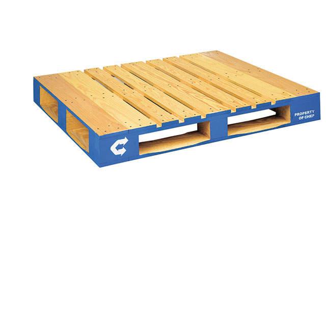 Wood Block Pallet – 1.21m x 1.01m (48 x 40 inches)