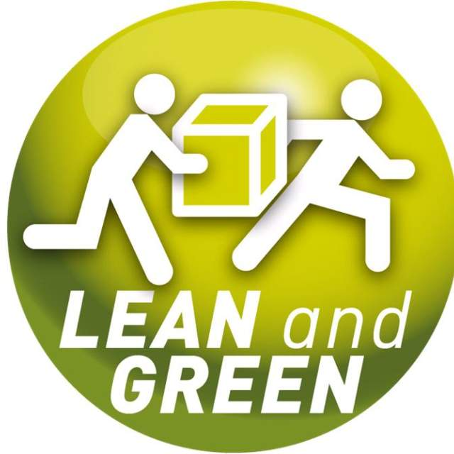 Lean and green logo