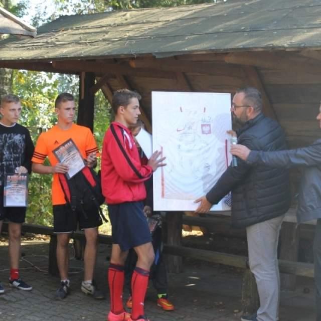 Mecz w Białowieży Dom Dziecka w Białowieży