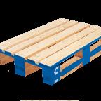 palette de type euro en bois