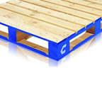منصة تحميل تشب من الكتل الخشبية
