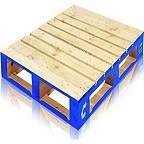 UK Wooden Pallet - 1200 x 1000mm