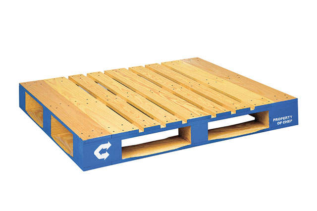 Pooled Wood Block Pallet 48 x 40 in