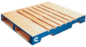 Pooled Wood Stringer Pallet