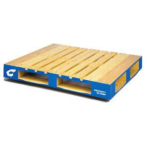 Pooled Wood Block Pallet